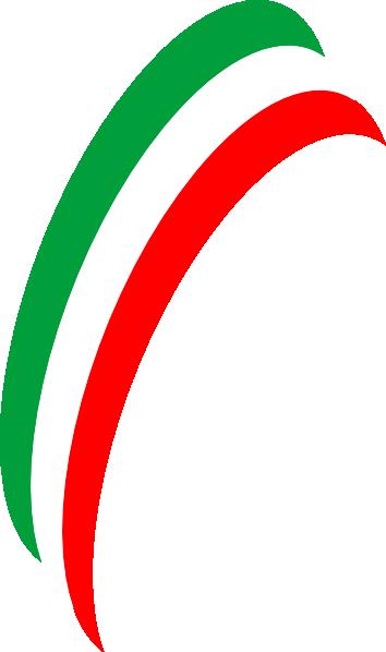 Flag Of Italy clip art - vector clip art online, royalty free ...