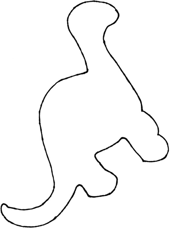 Dinosaur footprint template clipart best for Dinosaur templates to print
