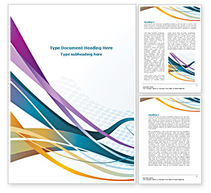 cover page template word 2010