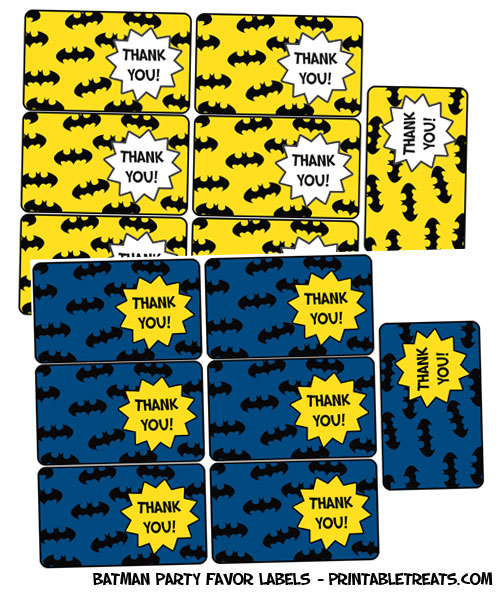 1000+ images about Batman Party Printables