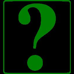 Question Mark Green - ClipArt Best