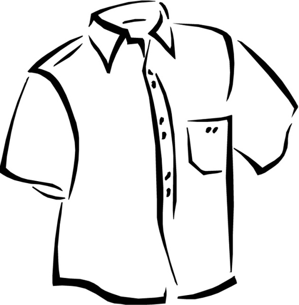 T Shirt Coloring Page T Shirts Template To Color For Kids Free ...