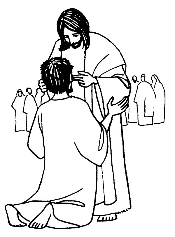 clipart of jesus healing - photo #33