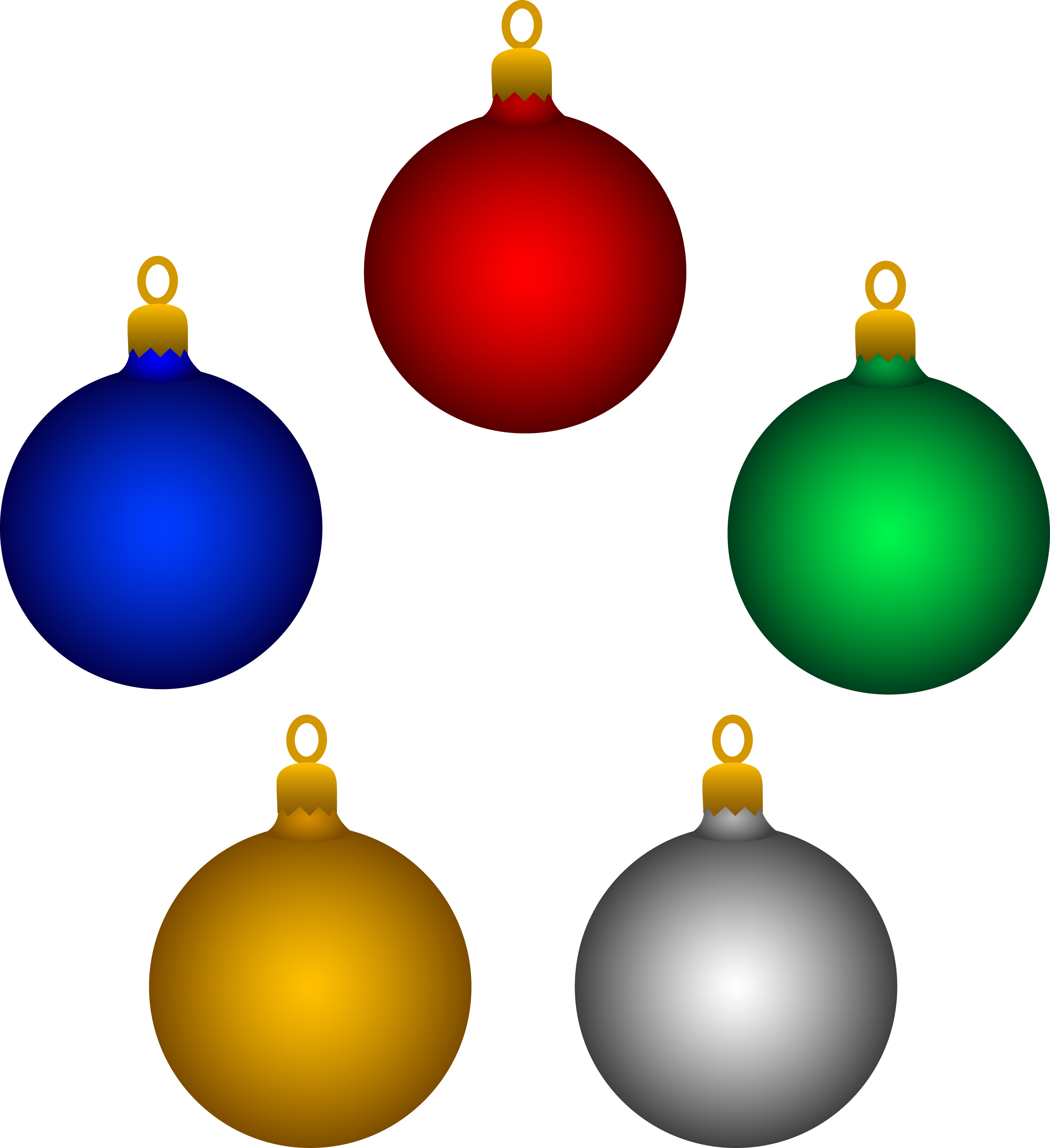 Christmas Decorations Clipart Free Clipart Best