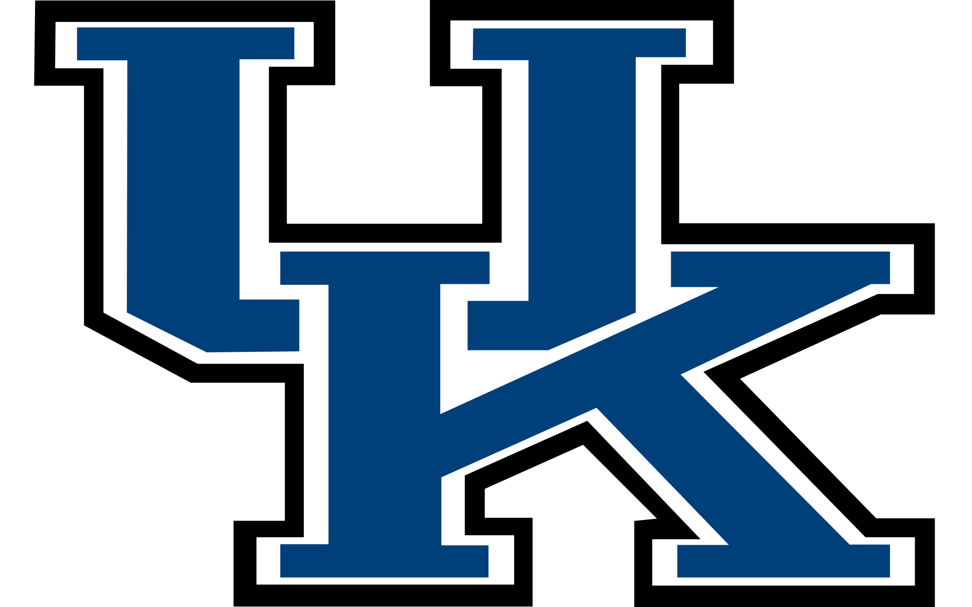 Uk wildcats logo clipart