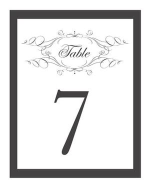 Table number template clipart best for 4x6 table tent template