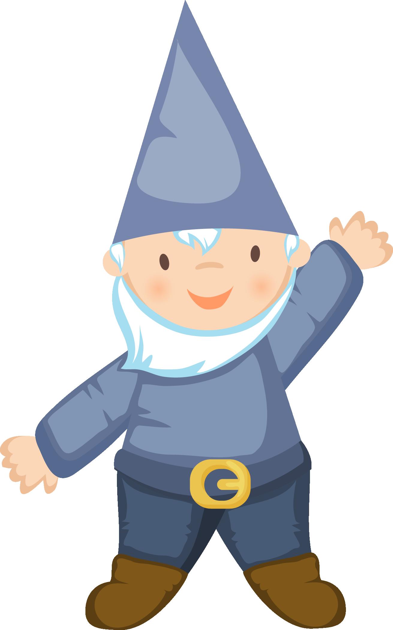 Gnome Clip Art: Cartoon Gnome