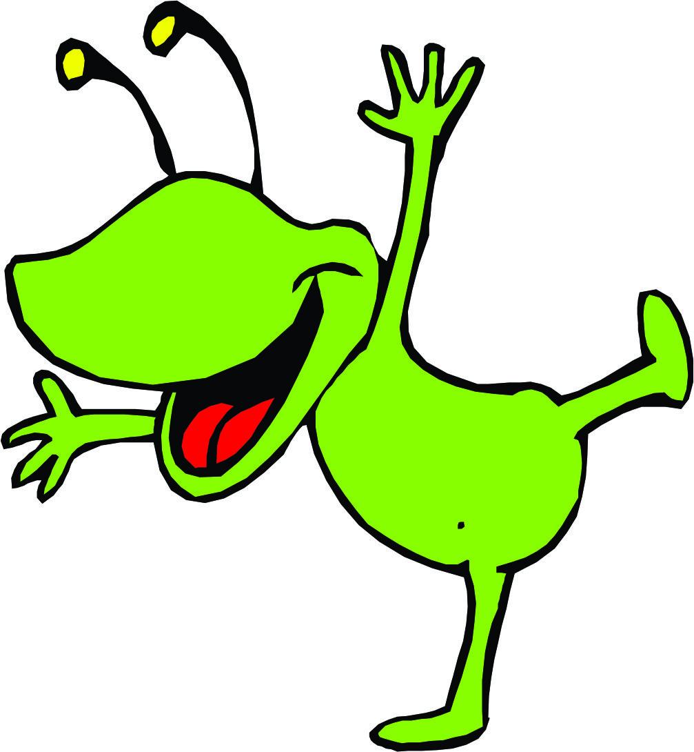 Alien Cartoon Pictures - ClipArt Best