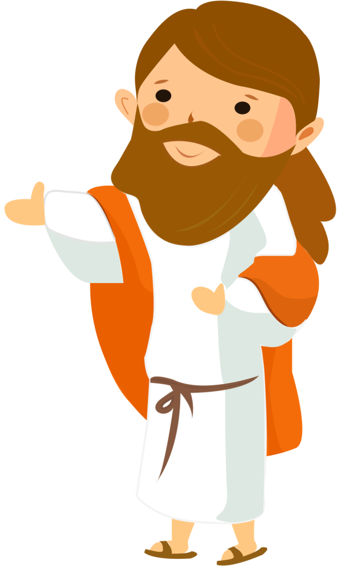 clipart cartoon jesus - photo #12