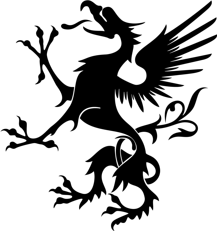 Dragon Heraldry: Dragon Vector