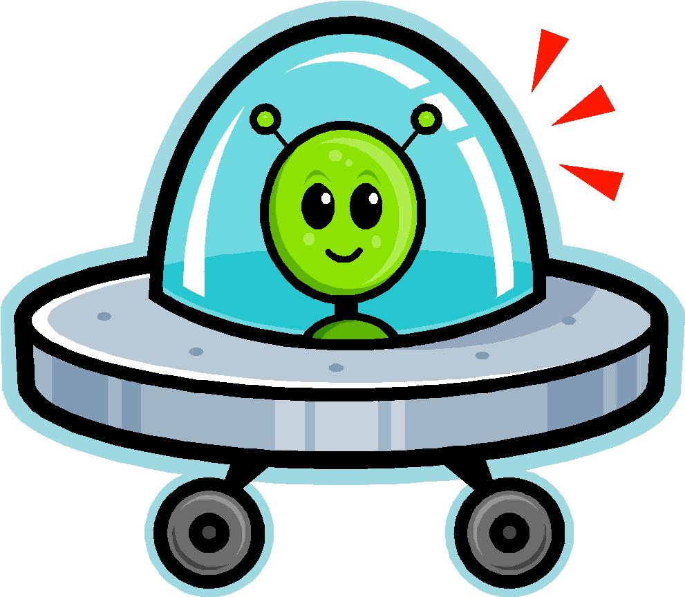 Alien Cute Spaceship - ClipArt Best