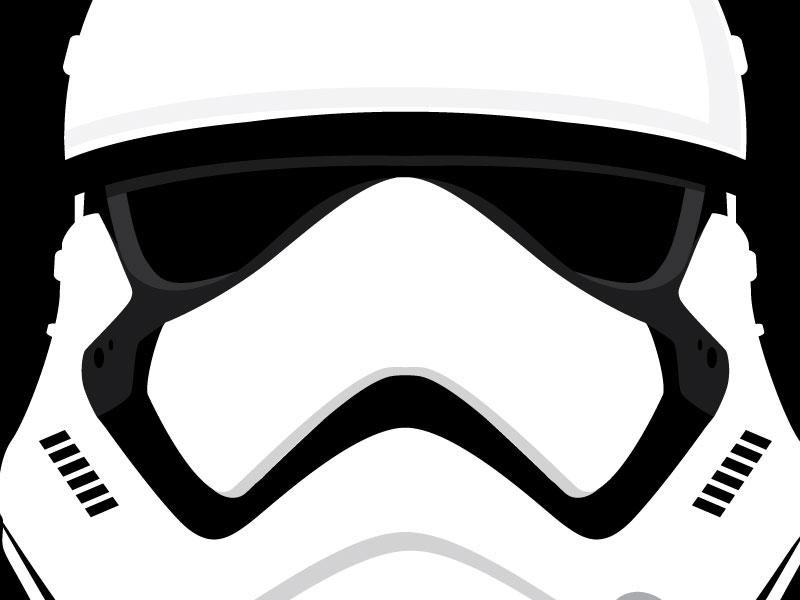 Storm Trooper Helmet Svg