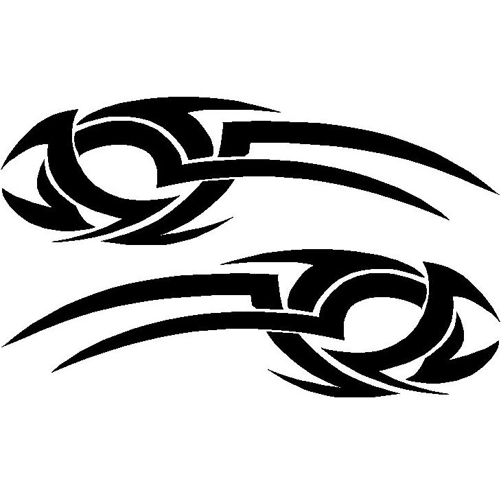 Tribal Car Decals and Graphics