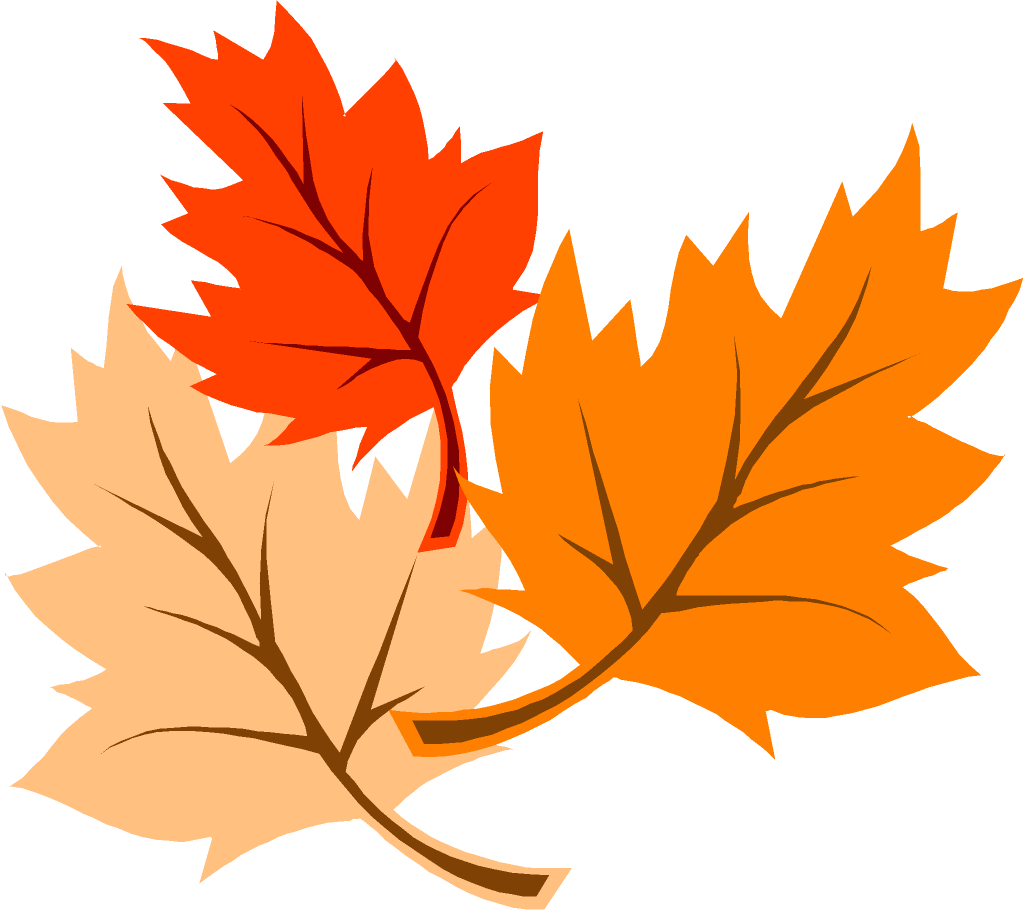 Falling Leaves Cartoon Clipart