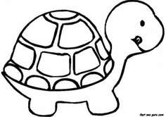 How To Draw Turtle Shell Pattern - ClipArt Best