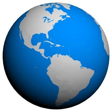 Clip art of worldSpinning Globe Clip Art