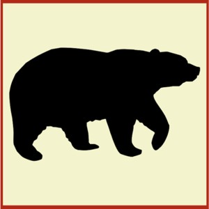 Stencil Bear Clipart Best
