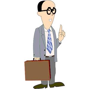 Free business man clip art