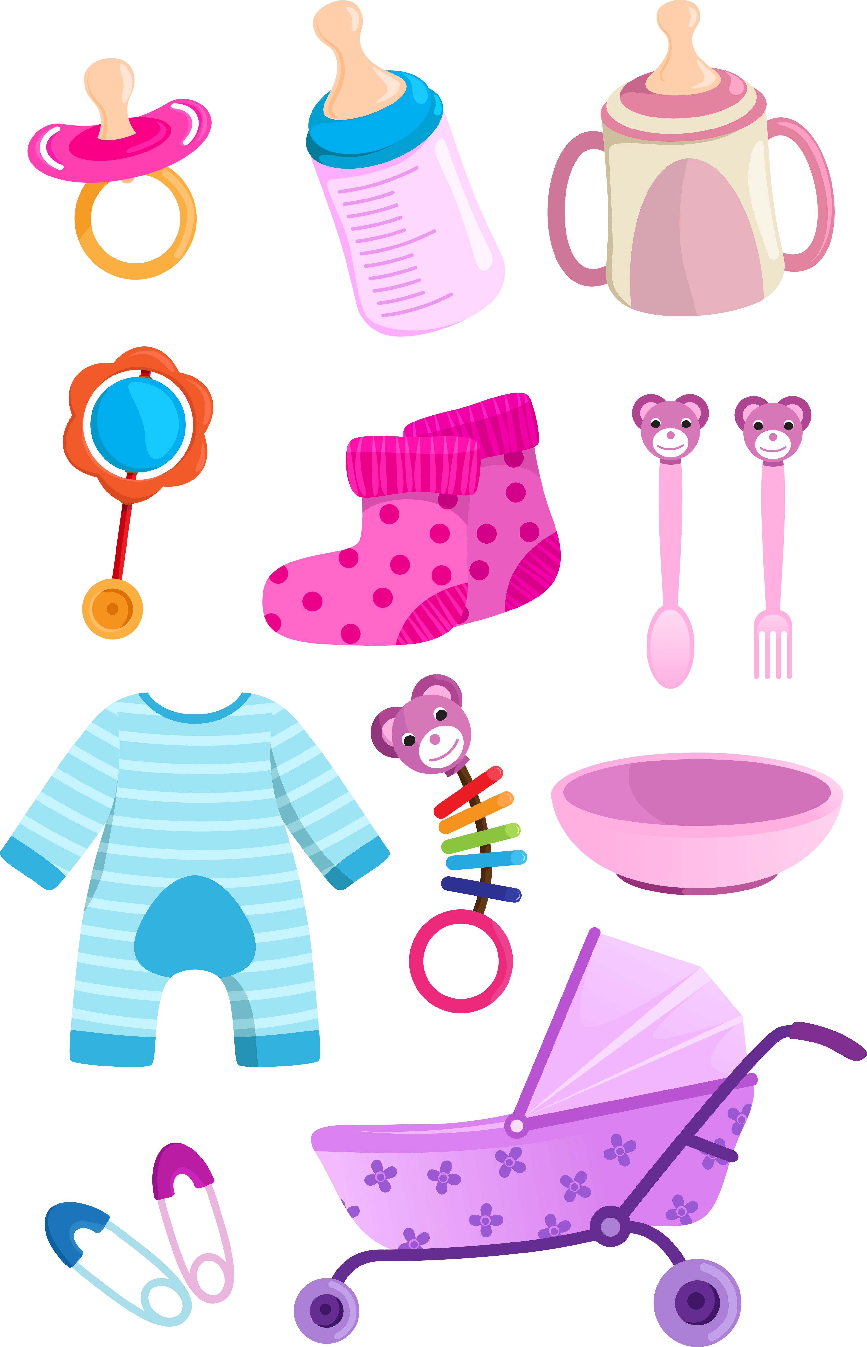 free clipart of baby things - photo #5