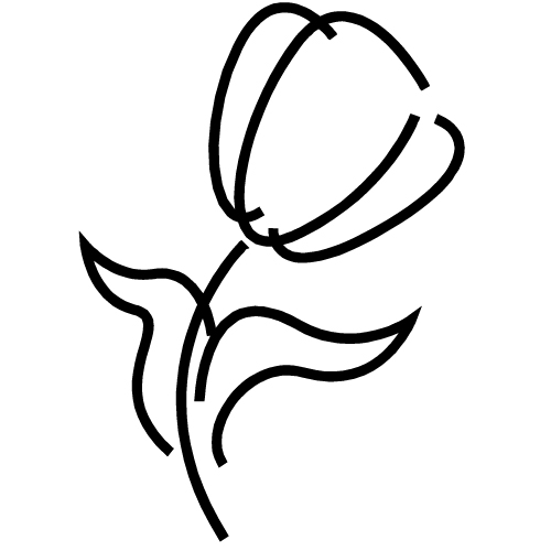 Rose Outline Clipart - ClipArt Best