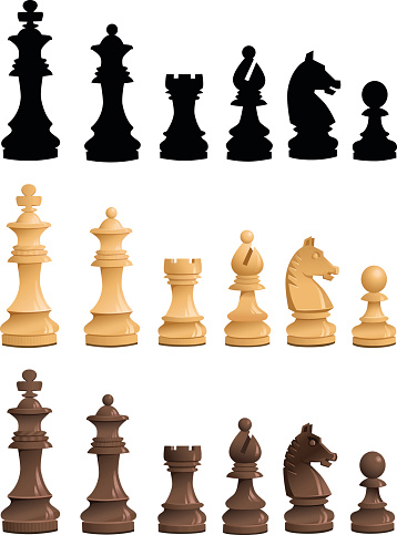 chess piece pictures clipart best