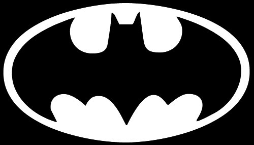 BATMAN Logo Disc Stencil
