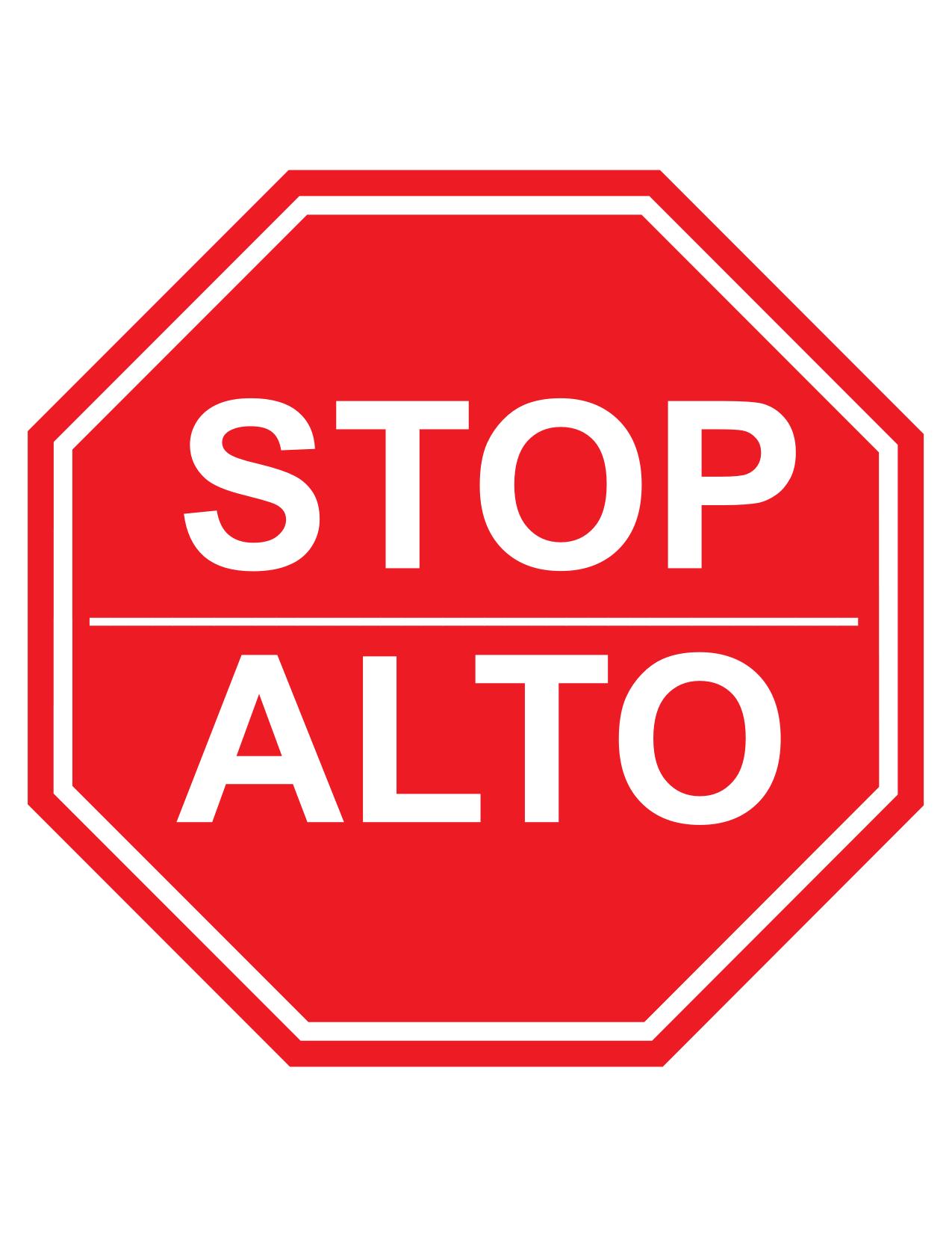 alto stop sign clipart best