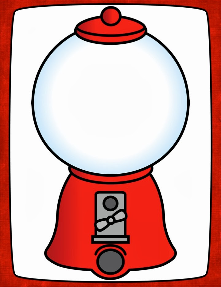 This is a graphic of Rare Gumball Machine Printable