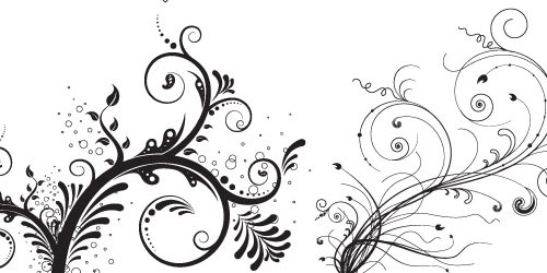 how to draw easy floral patterns