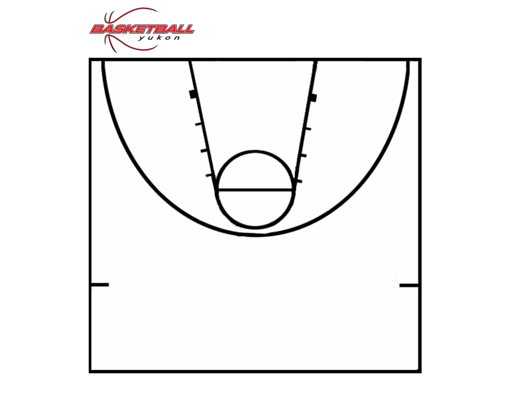 Printable Basketball Court Clipart Best