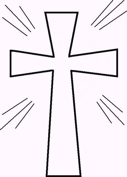 Cross Coloring Page Clipart Best Clipart Best Coloring Pages Of Crosses