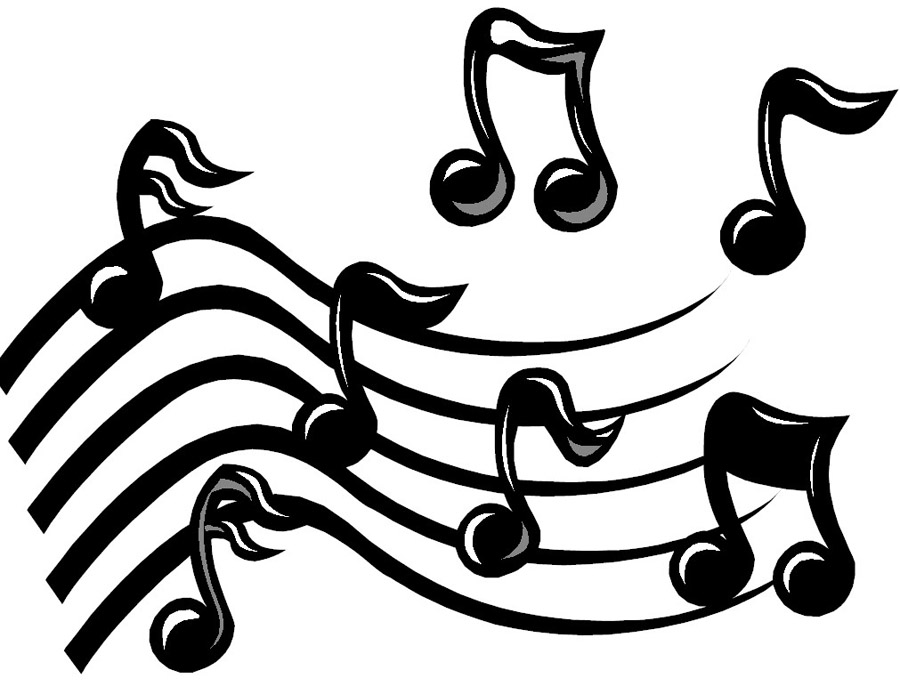 notes musical drawings tattoo note designs cliparts singing musicnotes tattoos star musicians computer