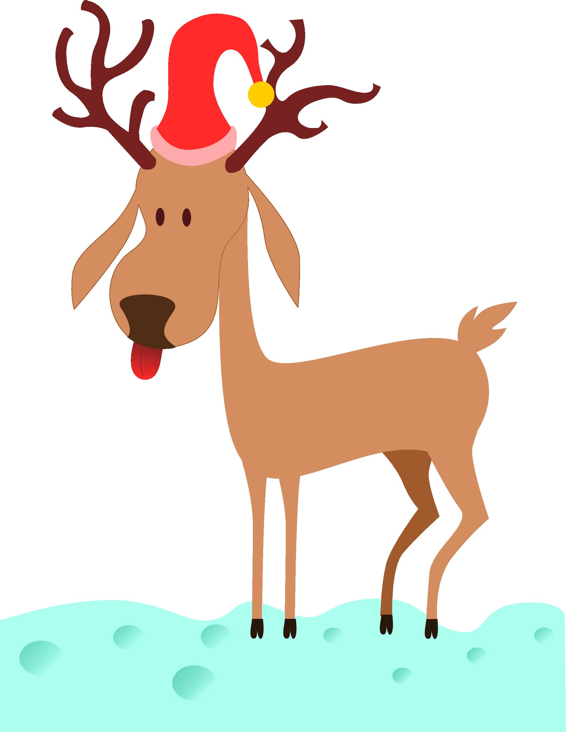 Clip Art: reindeer xmas christmas SVG - ClipArt Best - ClipArt Best