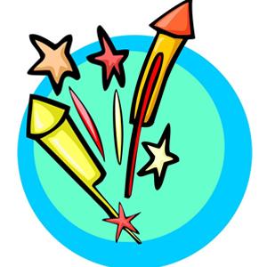 Cartoon Fireworks - ClipArt Best