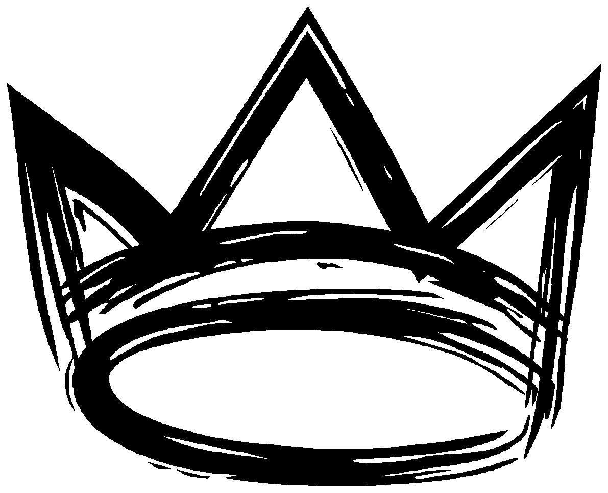 King Crown Logo Black - ClipArt Best