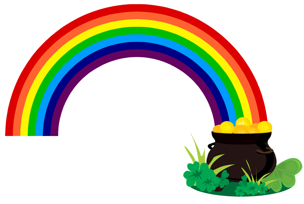 Rainbow with a Pot of Gold - ClipArt Best - ClipArt Best