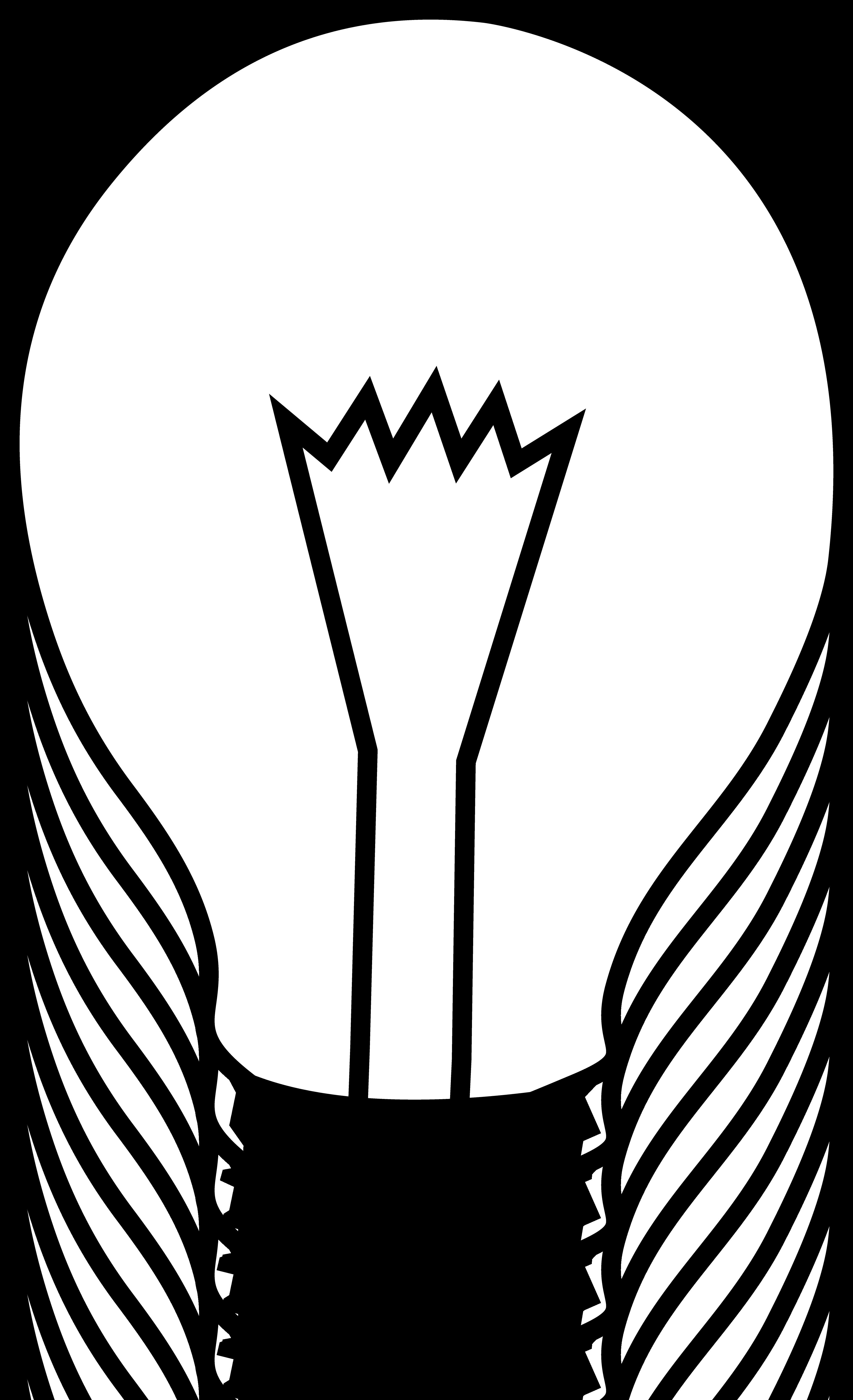 simple black and white light bulb free clip art lamp clipart black. Black Bedroom Furniture Sets. Home Design Ideas