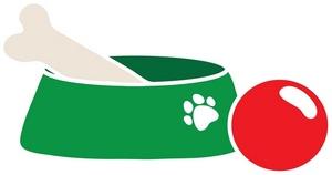 Dog Food Dish Clip Art