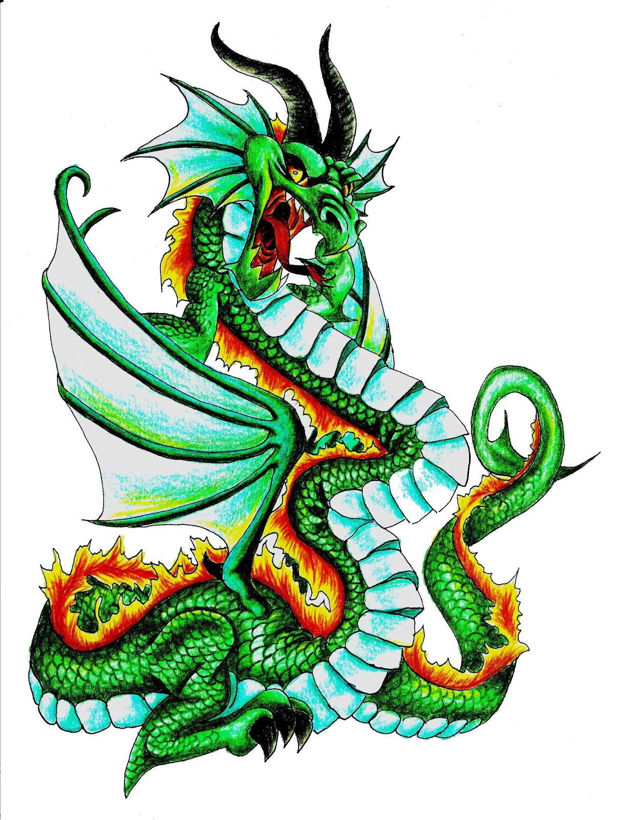 Free Dragon Pictures Clipart Best