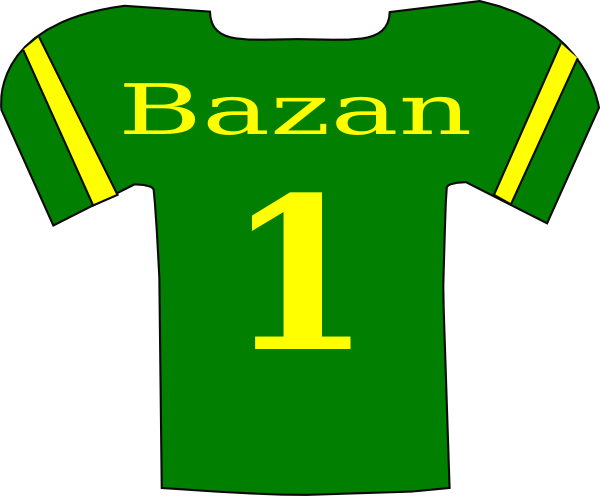 Football Shirt Clipart Football Jersey Clipart