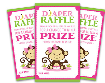 Free Diaper Raffle Tickets Template Clipart Best