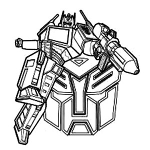 Bumblebee Trans Mer Coloring Pages #2