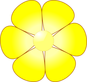 yellow flower vector png - photo #4