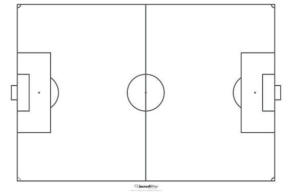 soccer field drawing