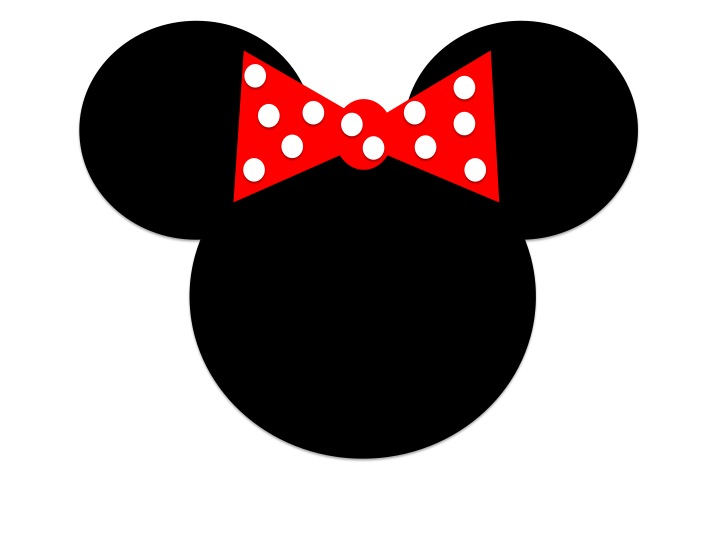 Minnie Mouse Head Template - ClipArt Best