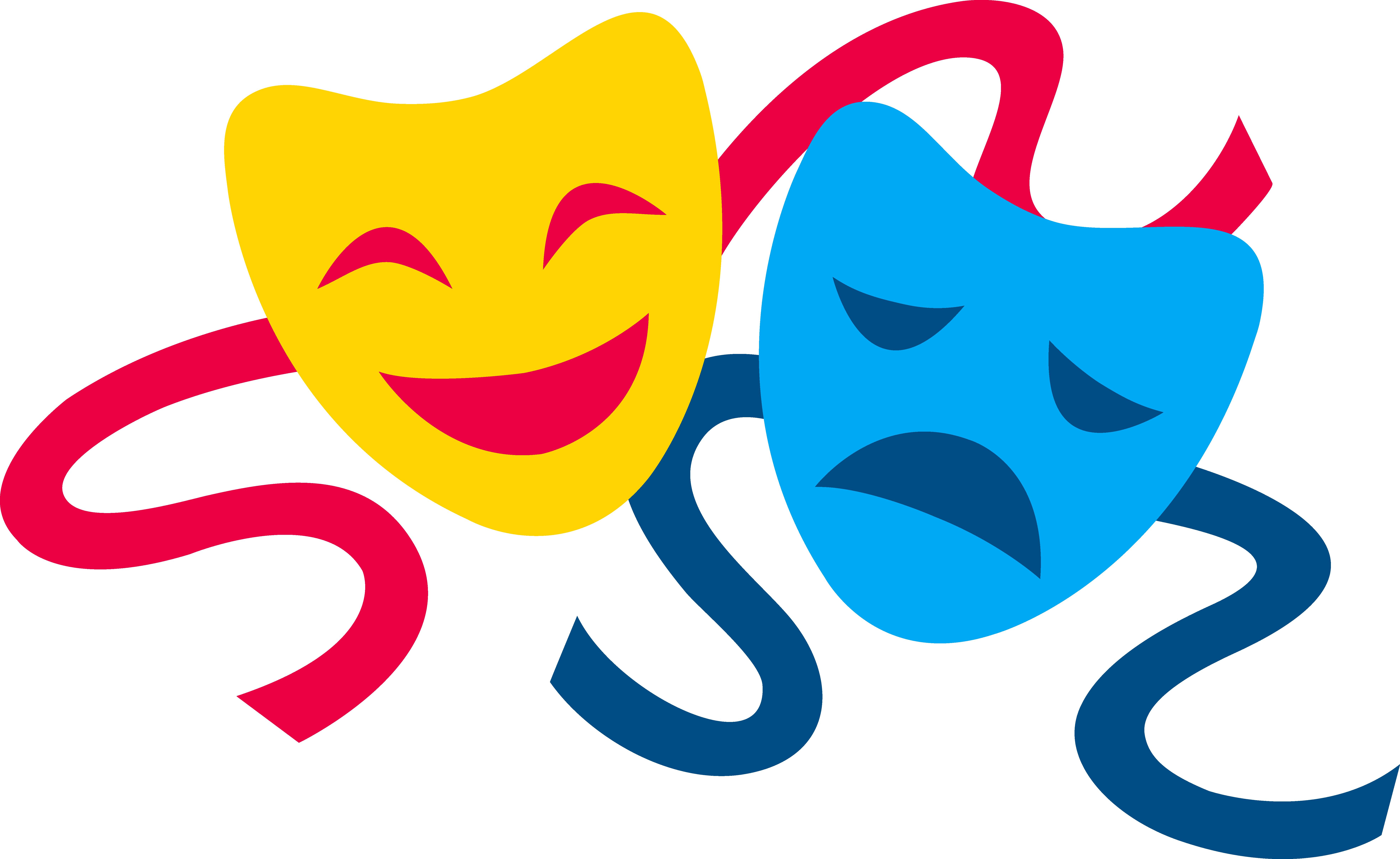 Drama Mask Clip Art