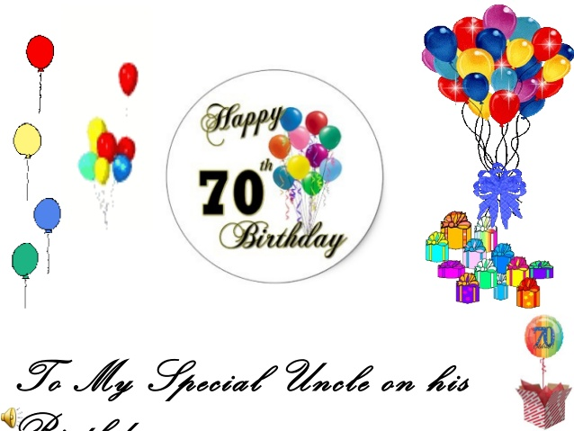 Happy 70th Birthday Uncle Clipart Best Clipart Best