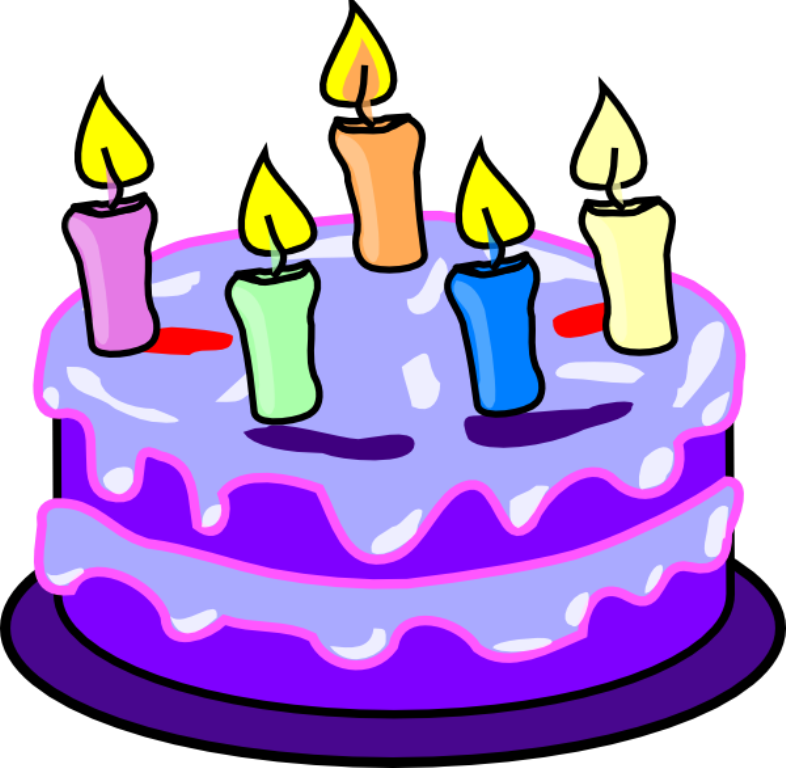 Birthday Cake Animated - ClipArt Best