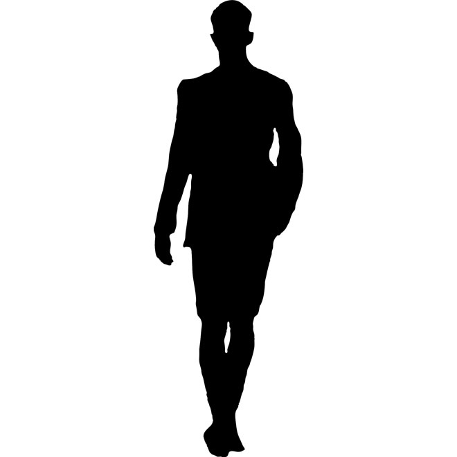 WALKING MAN VECTOR - ClipArt Best