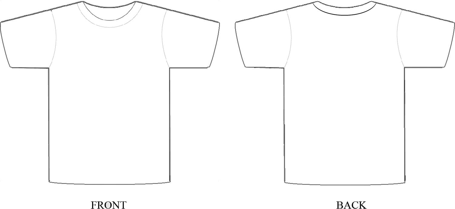 Design A Tshirt Template - ClipArt Best